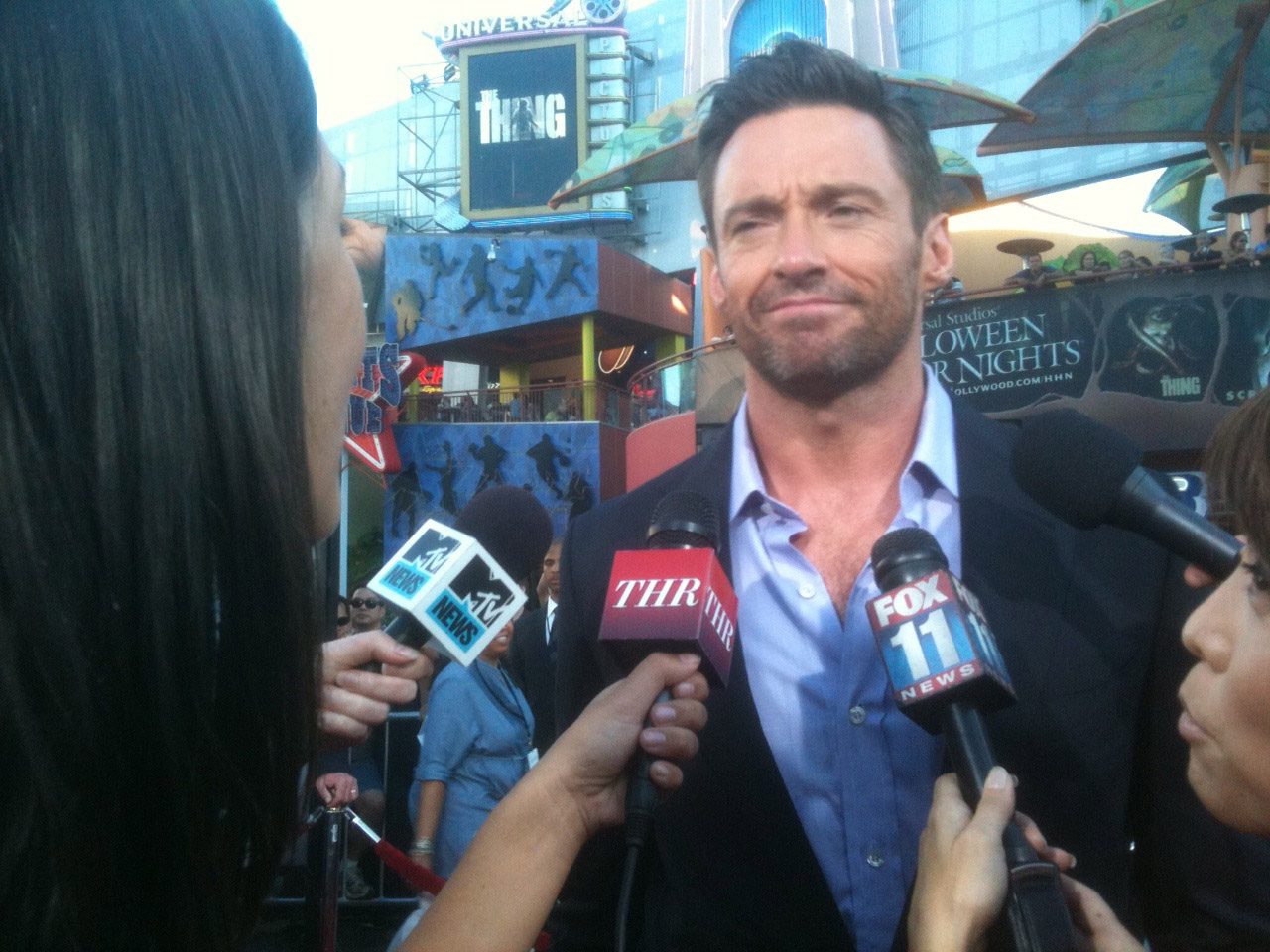 2011 rebecca m ford my interview for the hollywood reporter hugh jackman who stars in disney s real steel which premieres on friday is here